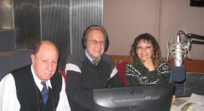 En la FM Palermo  Nuestra Presidenta y el Dr. Angel Quartucci