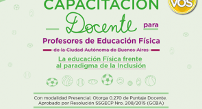 Capacitación Gratuita con puntaje docente otorgado por el GCBA