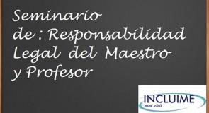 la responsabilidad legal del profesor ante el nuevo paradigma de la inclusión