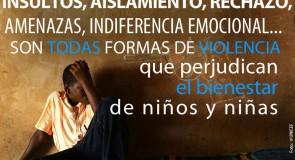 Eliminación de la violencia contra niños y niñas